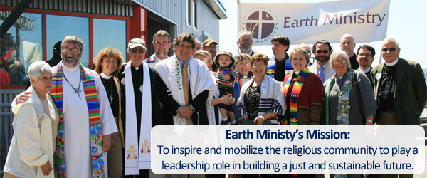 Earth Ministry Main Banner Blue