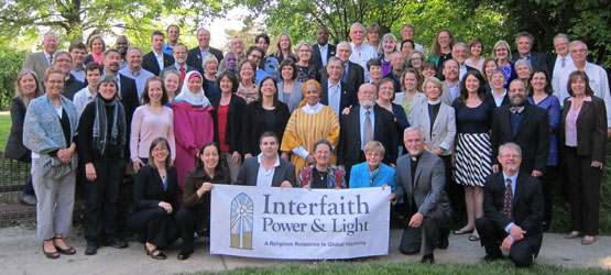 Religious leaders from Interfaith Power & Light partner organizations around the country at the 2014 national conference in Washington, DC.