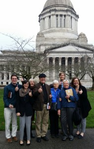 Earth Ministry at Washington State Capitol
