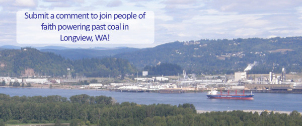 Comment on Longview Coal Export