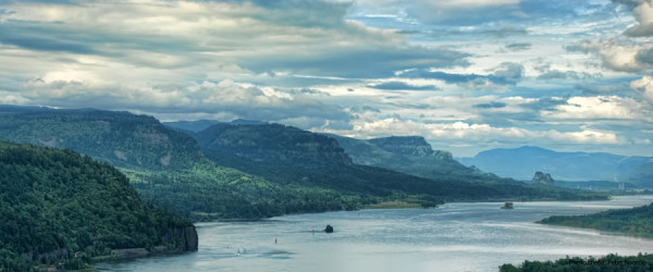 Columbia River Gorge by Peter Roome