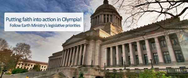 Follow Earth Ministry's Legislative Priorities